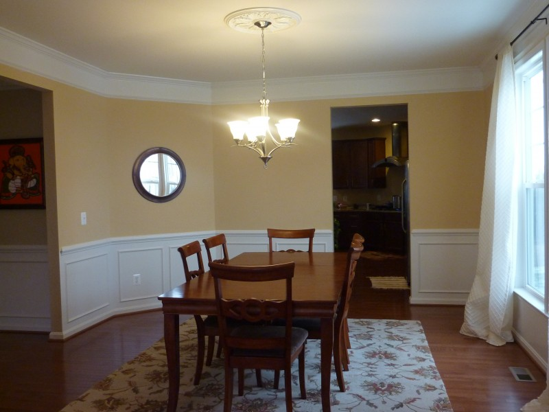 The Bare Dining Room
