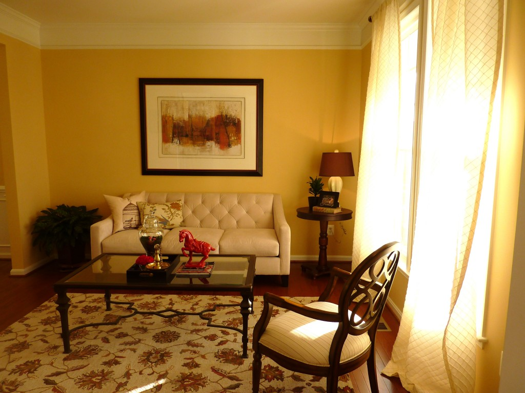 Living Room Goes from Drab to Fab