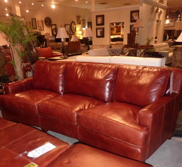 The Prefect Leather Sectional Search