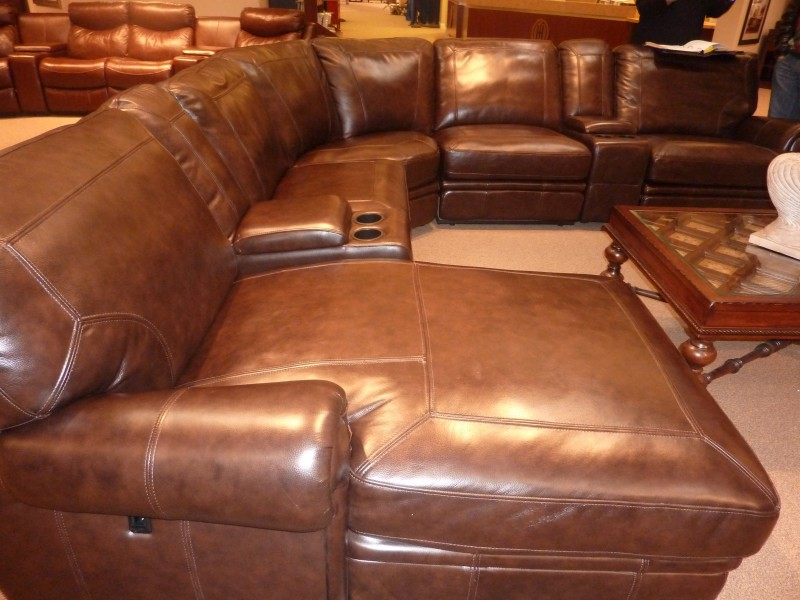 The Prefect Leather Sectional Search Whats Ur Home Story