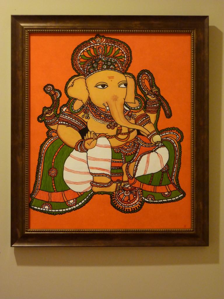 1...2...Baby steps in Kerala mural painting