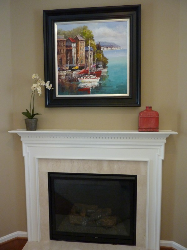 easy fireplace mantel jc huffman cabinetry basic series