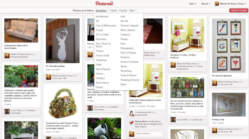 new to pinterest
