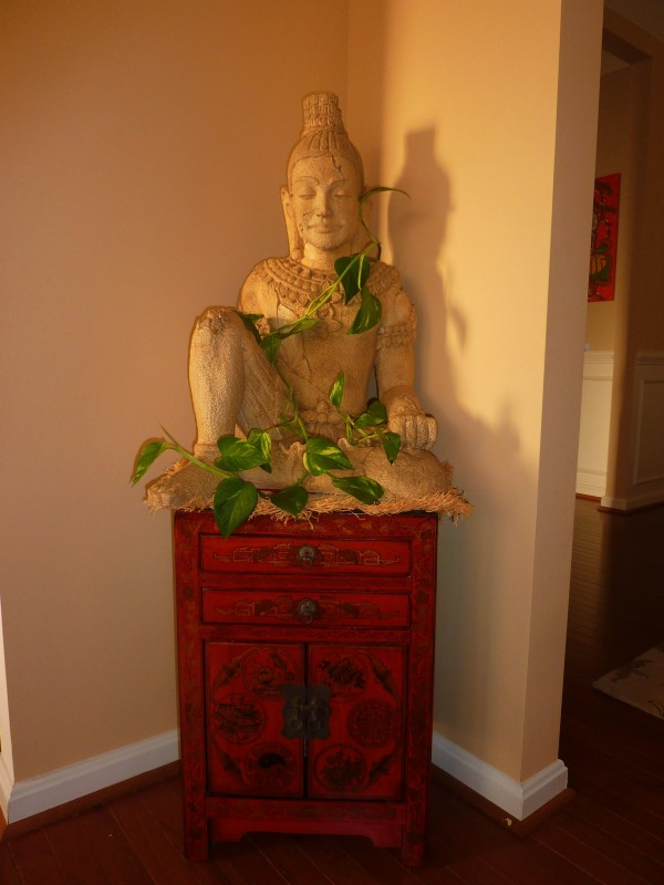 Asian inspired decor thai buddha whats ur home story for Buddha decorations for the home