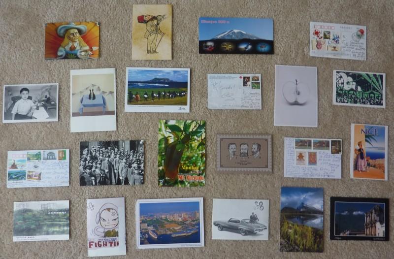 Postcard Gallery Wall