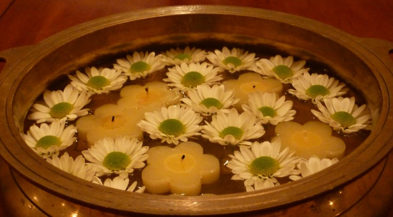The Brass Uruli & Traditional Kerala Decorating