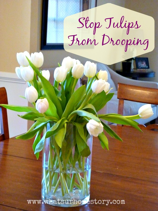 4 Tricks to Keep Tulips in a Vase From Drooping
