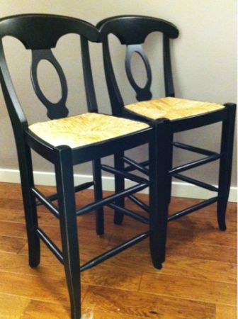 Pottery Barn Napoleon Barstools retails for each for both LAg
