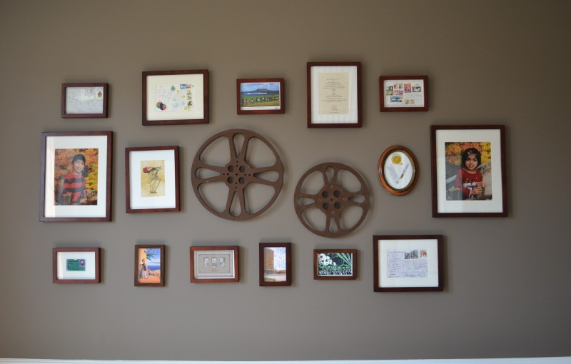 whats ur home story: gallery wall