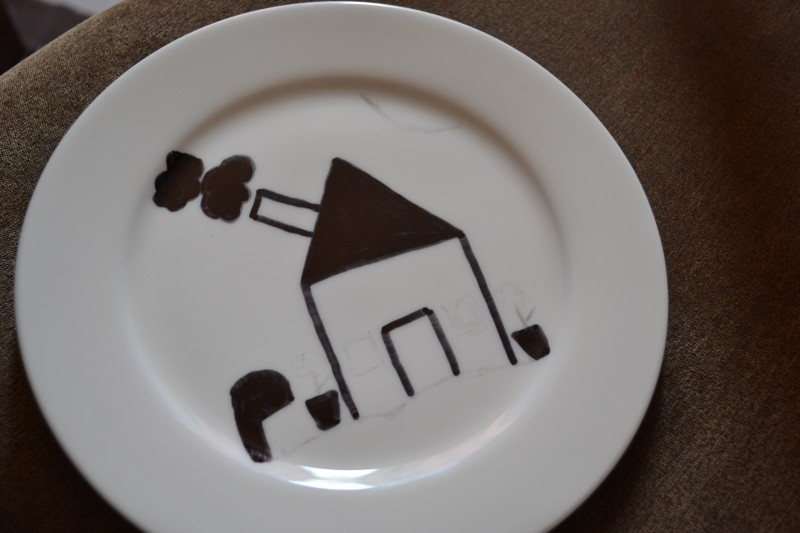 Painted Decorative Plates