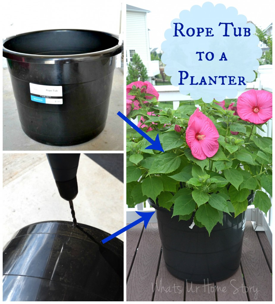 The Cheapest Way to DIY Large Plant Pots!