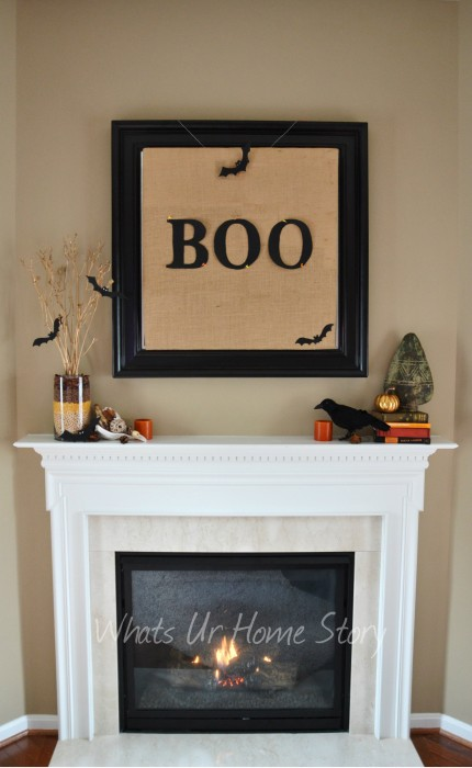 The Burlap BOO Sign