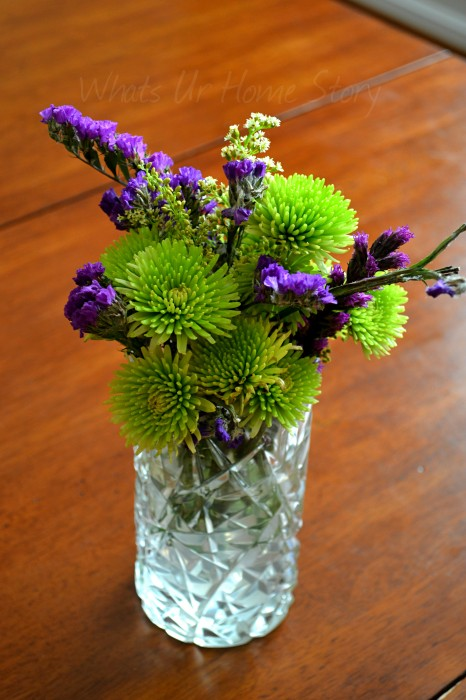 Working with Grocery Store Flowers