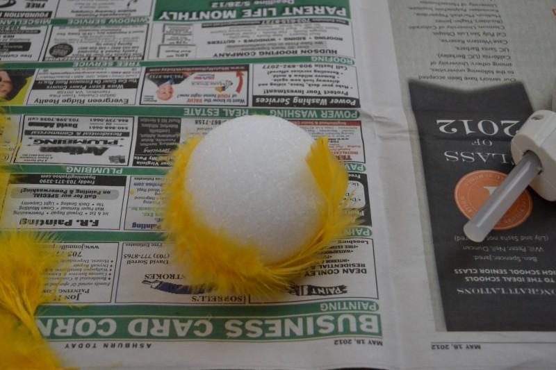 Decorative Feather Balls