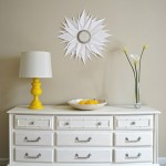 Dresser Makeover with Annie Sloan Chalk paint,Sherwin Williams Softer Tan, chalk paint dresser makeover