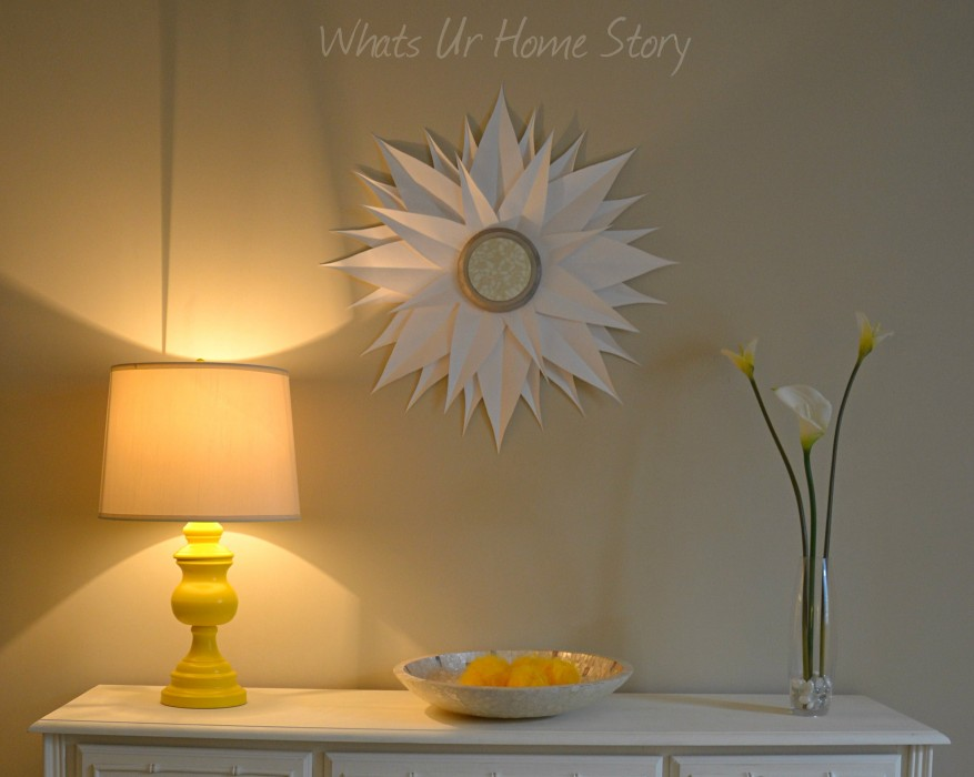 Thrift Store Lamp Makeover