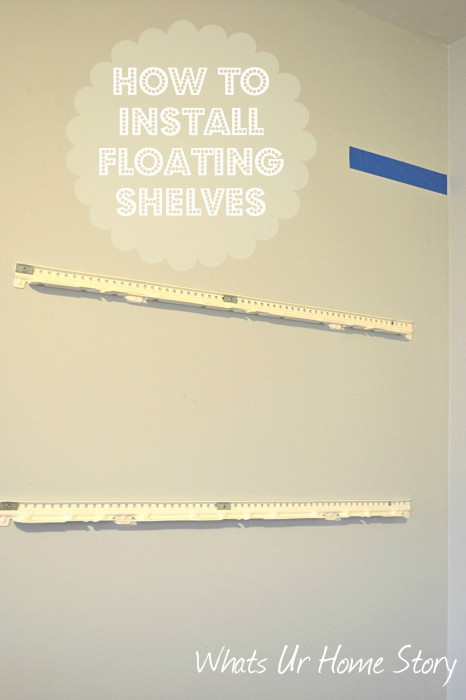 How To Hang Ikea Lack Floating Shelf Whats Ur Home Story
