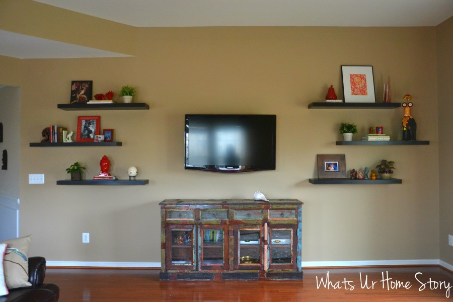 Whats Ur Home Story: Reclaimed wood media console, reclaimed wood buffet, industrial sideboard