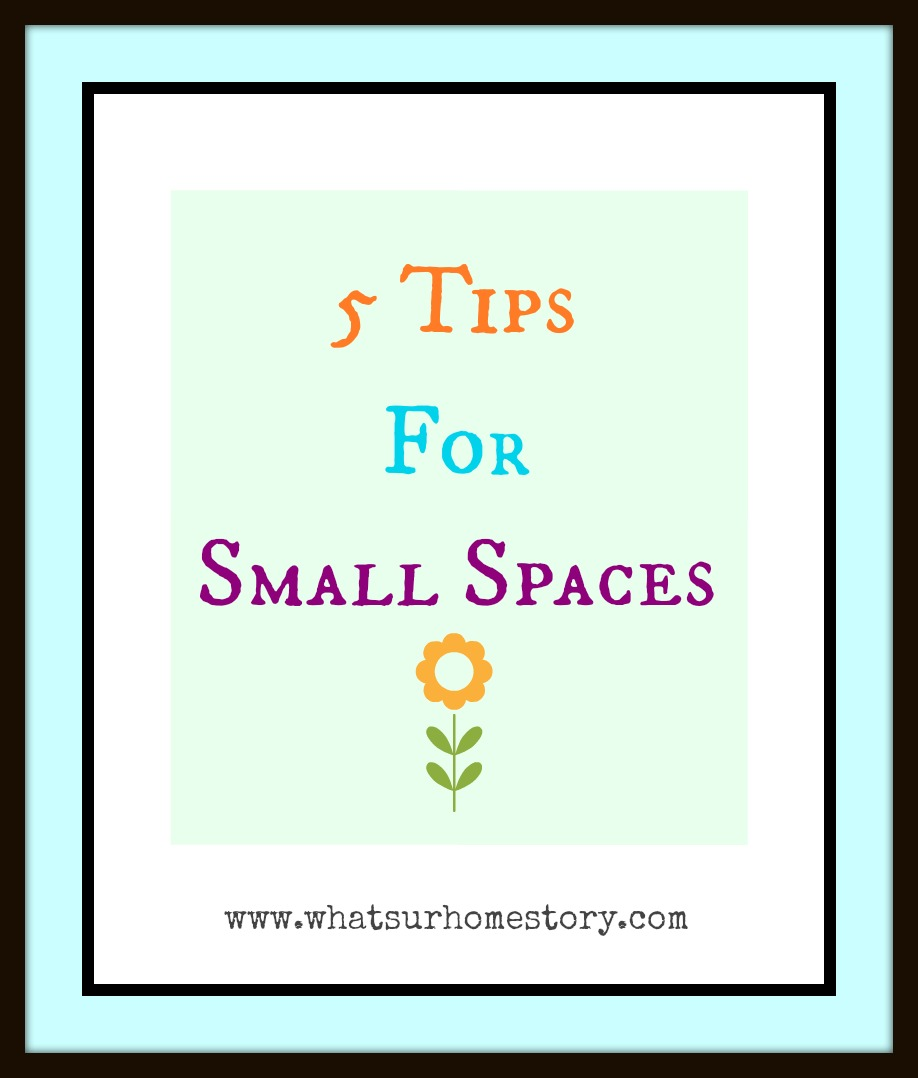 decorating tips for small spaces, apartment decorating