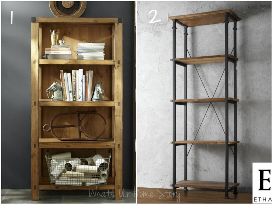 - Rustic Bookcase Whats Ur Home Story