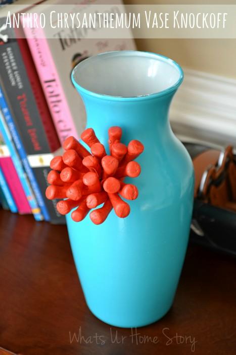 Chrysanthemum Vase DIY