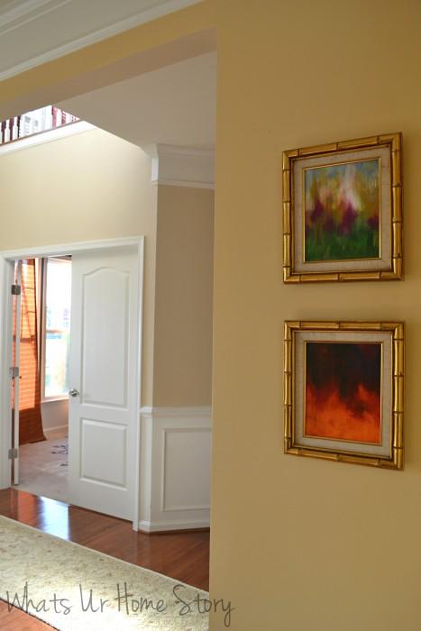 Art on the Wall  Reuse Vintage Frames