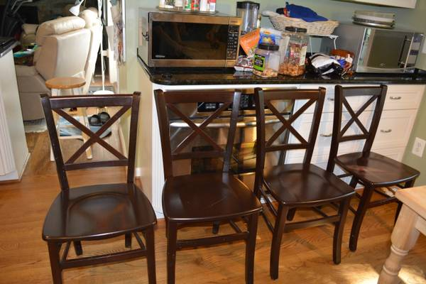 cross back dining chairs