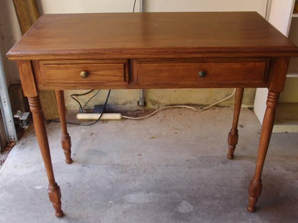 small desk, console table