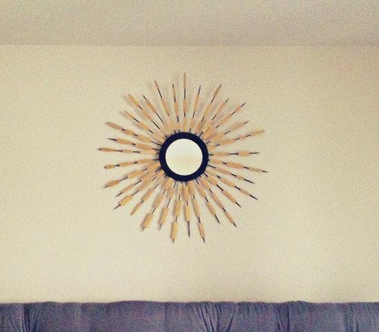 Bamboo Skewer Sunburst Mirror Whats Ur Home Story