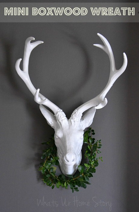Whats Ur Home Story: Mini Boxwood Wreath