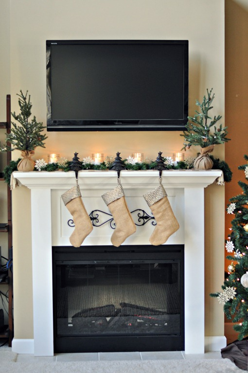 Easy Christmas Mantels Whats Ur Home Story