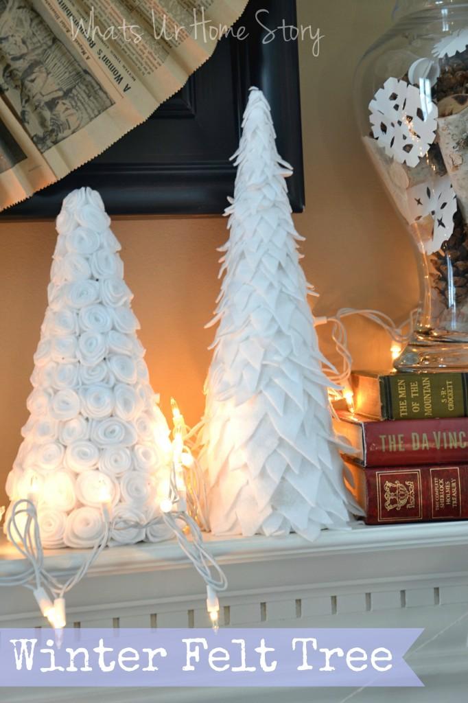 Winter Felt Tree