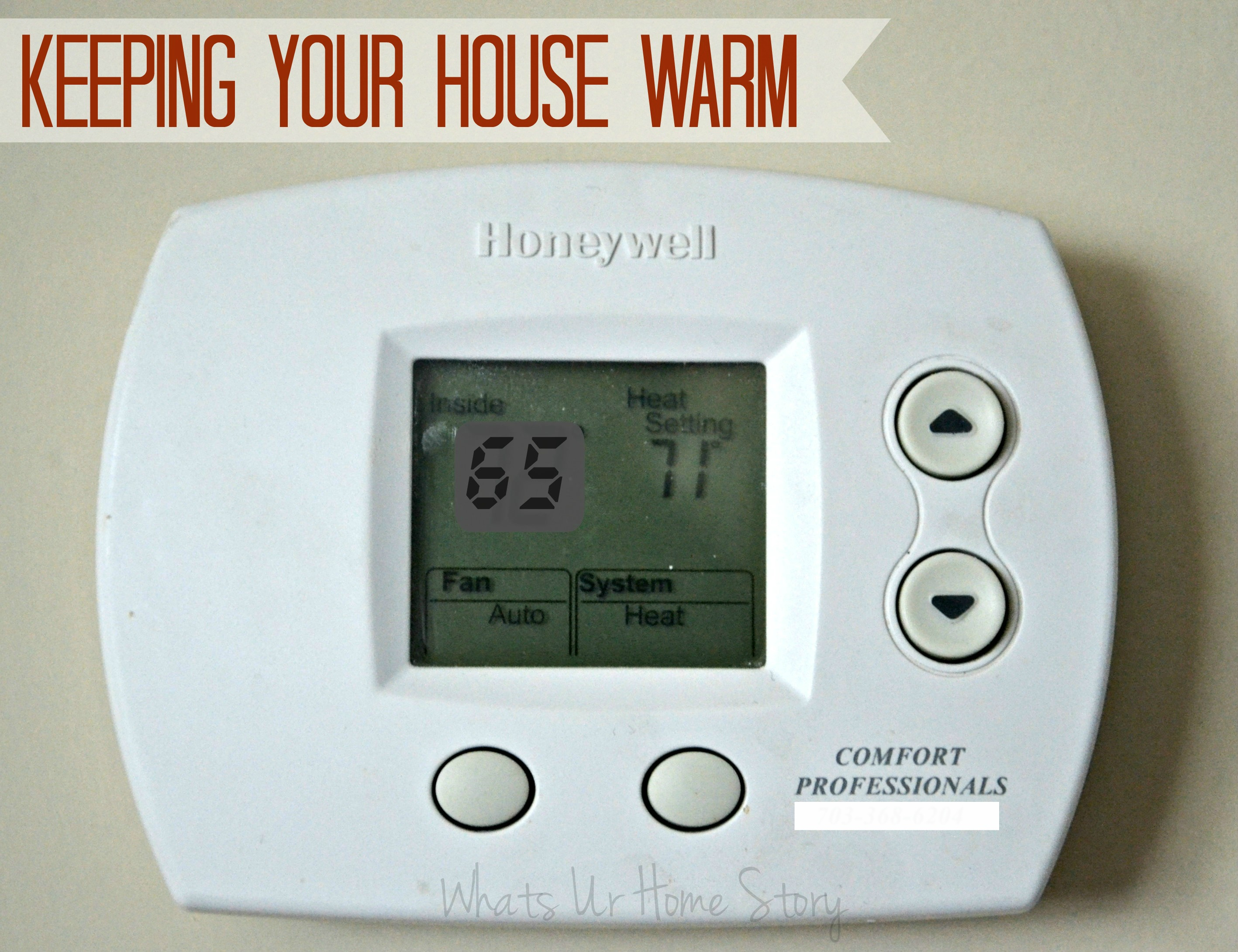 Tips to keep your home warm this winter,