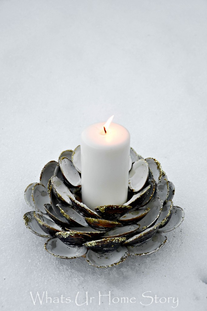 Seashell Candle Holder