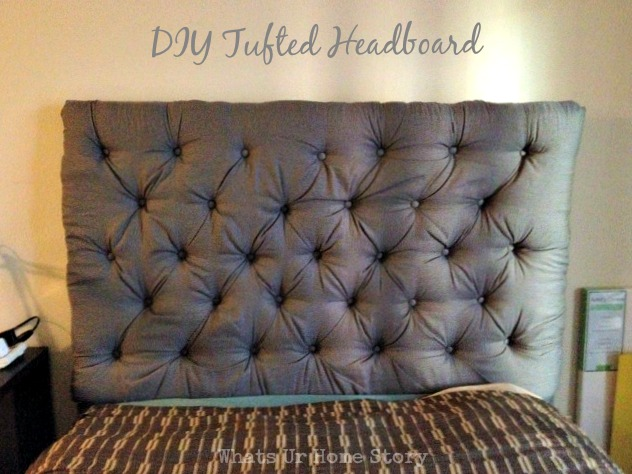 Reader Showcase Diy Tufted Headboard Whats Ur Home Story