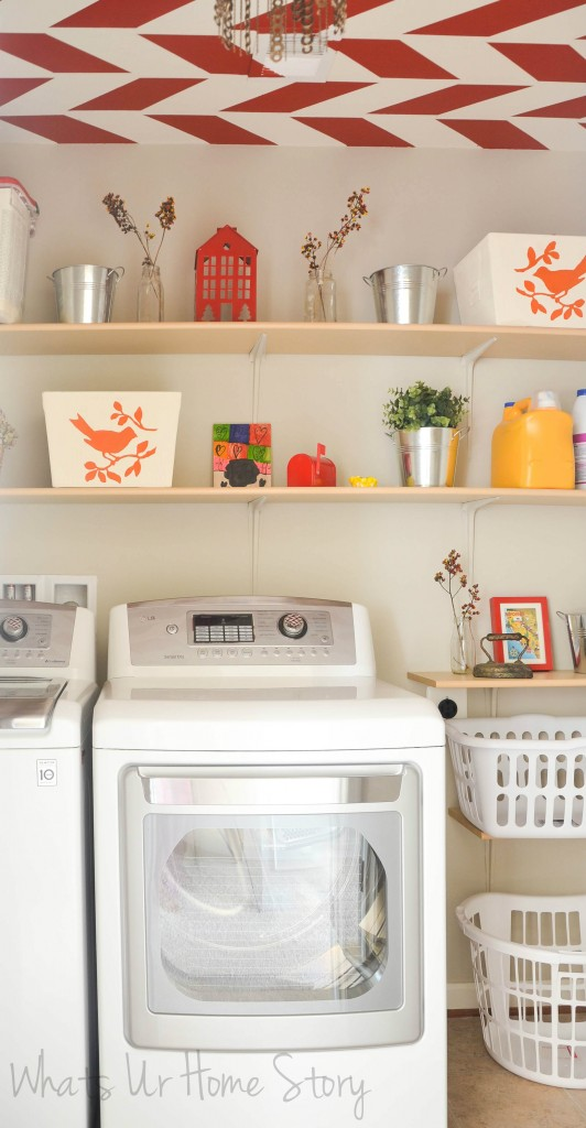 Fabric Bin Makeover with Chalk Paint