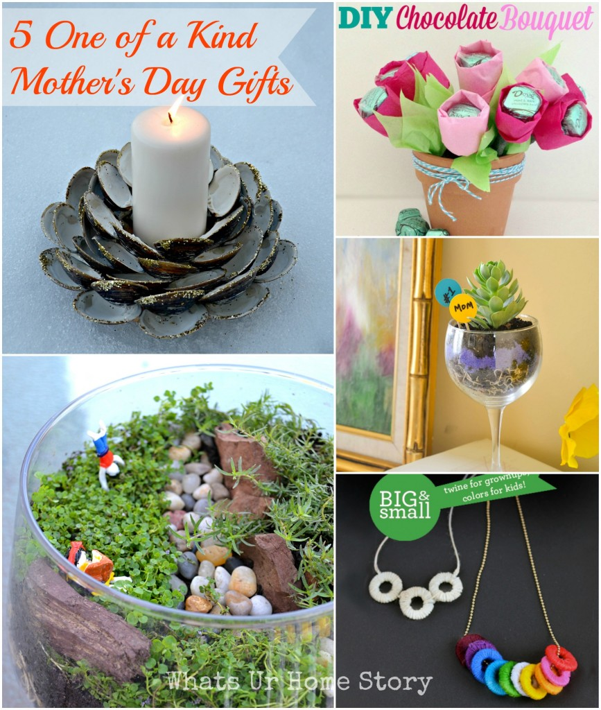 5 One of a Kind Mothers Day Gifts