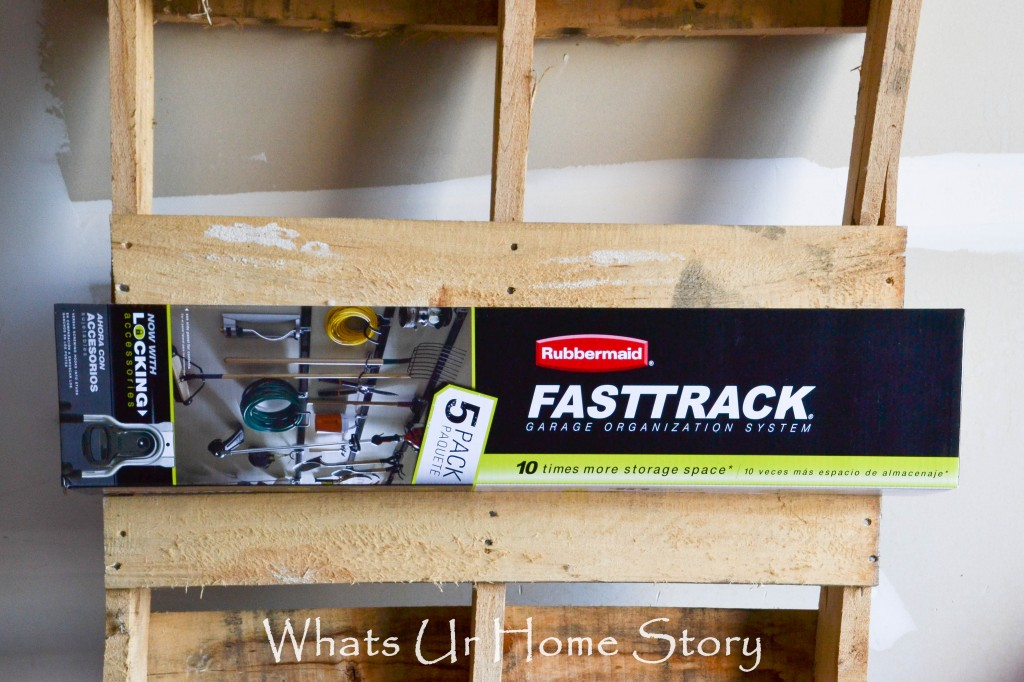 Garage Organization with Rubbermaid FastTrack
