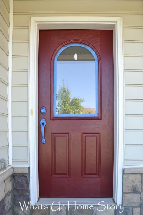 How to paint a front door - Painted front door images ...