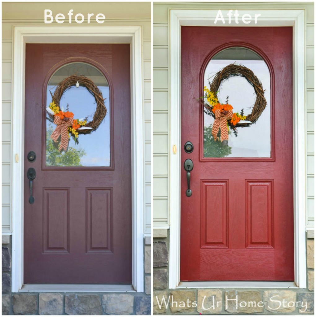 How to Paint a Front Door & a Giveaway!