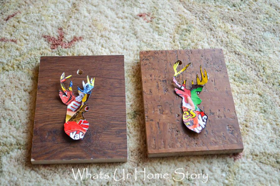 Woodland Reindeer Ornaments