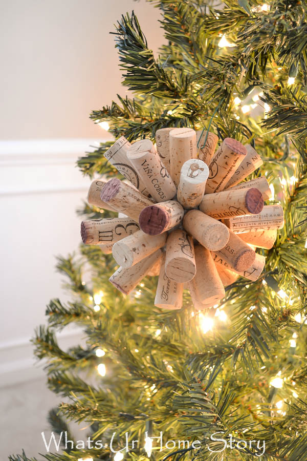 Easy Wine Cork Craft Cork Ball Ornament Whats Ur Home