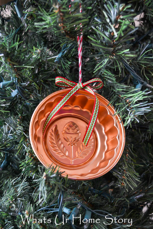Vintage Jello Mold Ornament