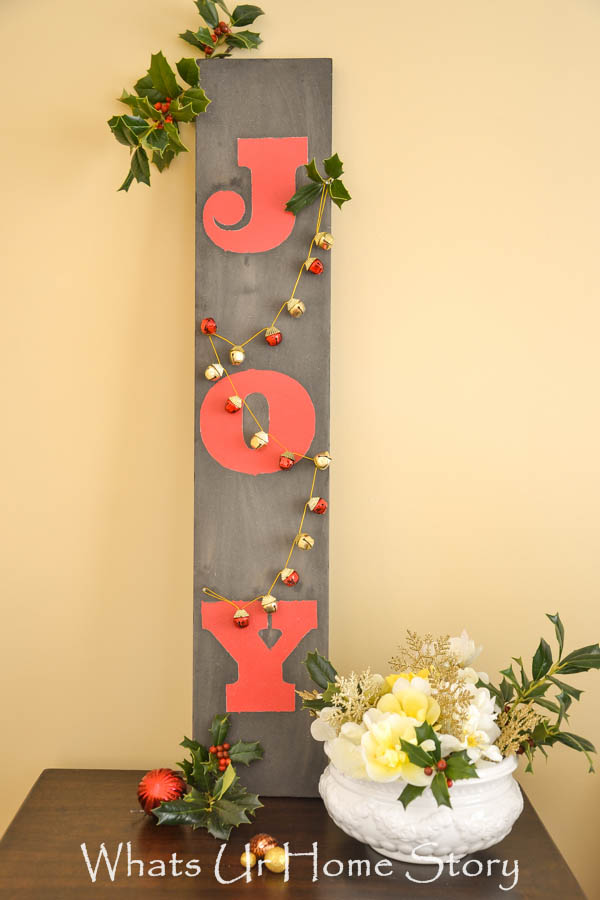 Driftwood Joy Sign