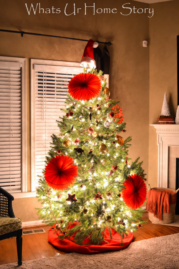 Our 2014 Eclectic Christmas Tree Whats Ur Home Story