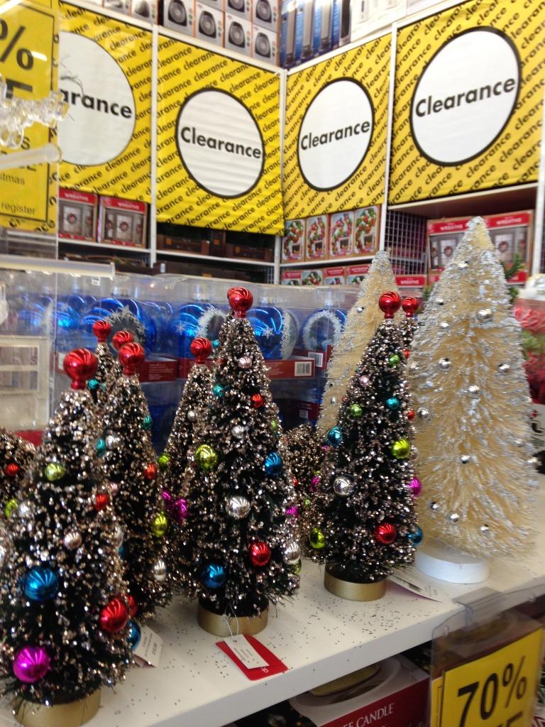 Holiday Decor Shopping in January
