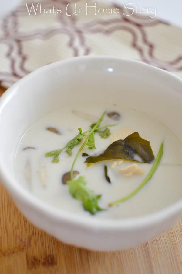 Tom Ka Gai (Thai Coconut Chicken Soup)