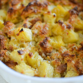 pineapple bread pudding recipe