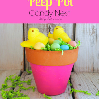 Peep Pot Candy Nest