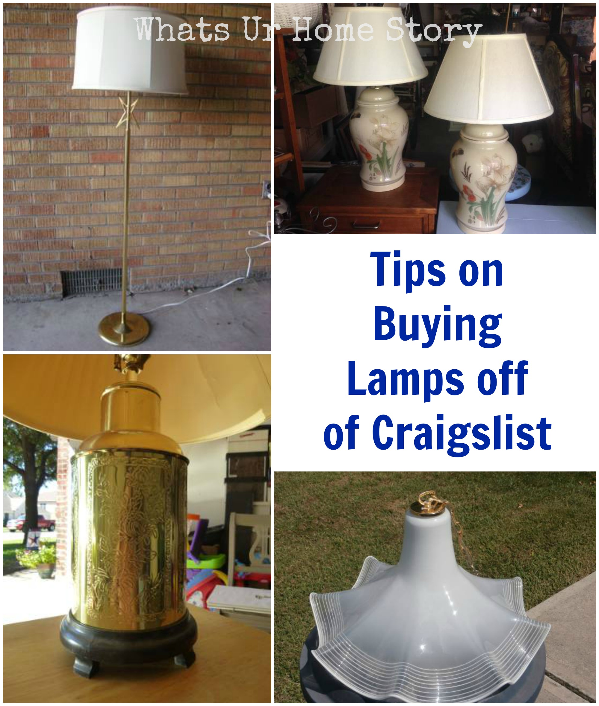 buying lamps off of craigslist whats ur home story. Black Bedroom Furniture Sets. Home Design Ideas